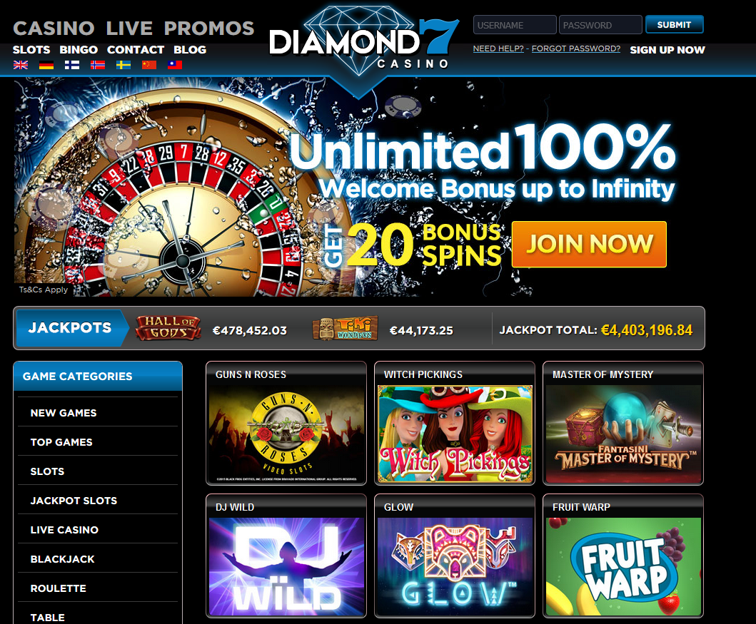 diamant 7 casino