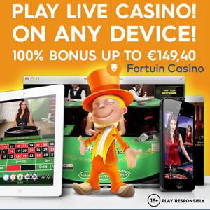Fortuin Live Casino